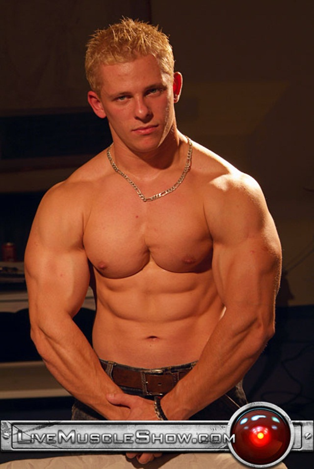 Johnny Dirk (Bodybuilder) for Live Muscle Show