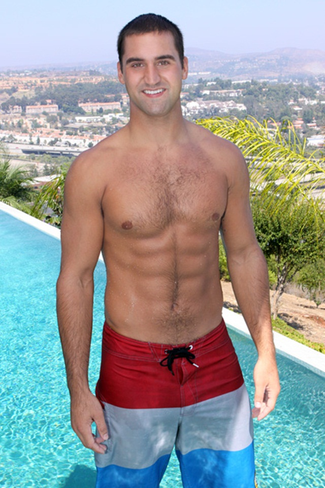 Greek God Brennan at Sean Cody