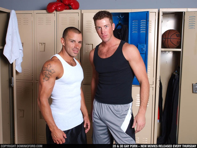 Chris Tyler and Tanner Wayne at Dominic Ford