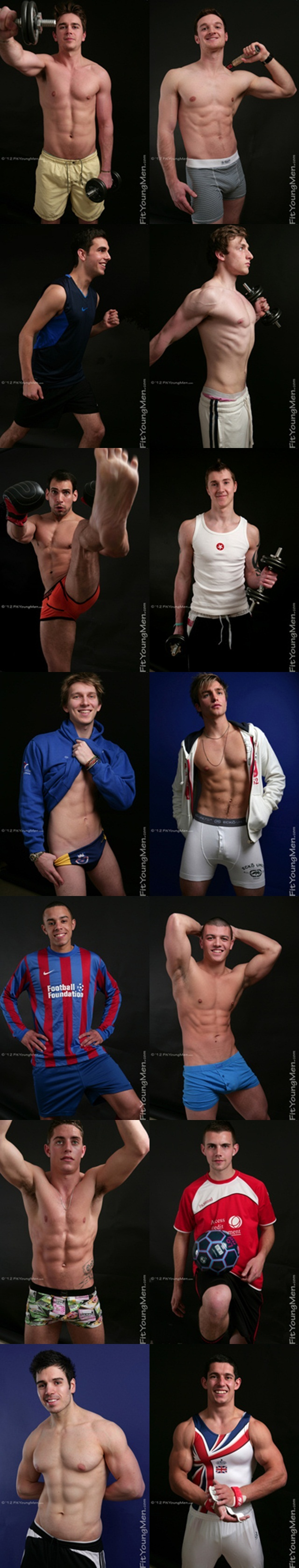 Fit Young Men – Stripped of their sports kit – Naked Athletes Gallery
