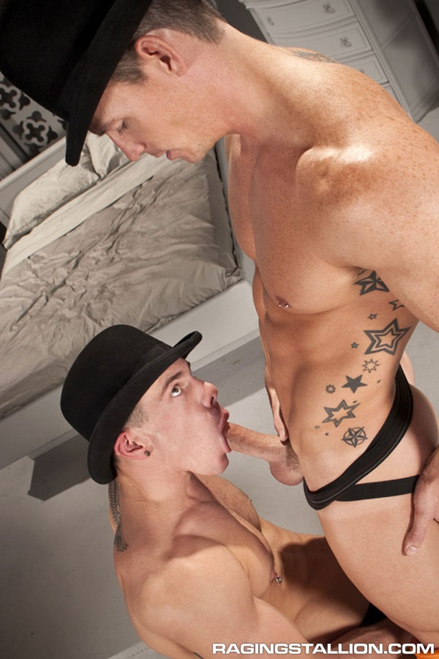 Jesse Santana and Cavin Knight at Raging Stallion