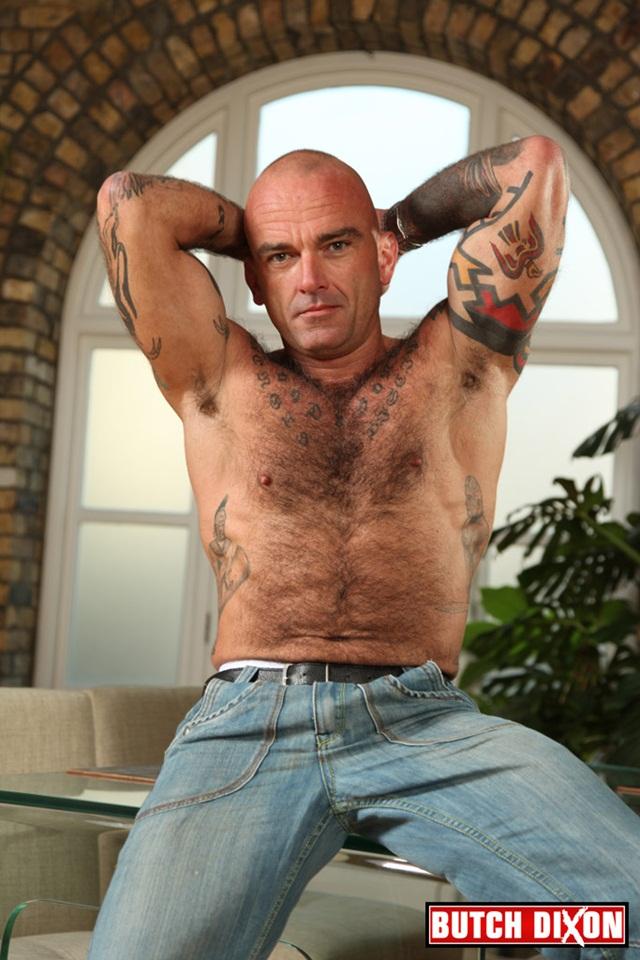 Seth Wilkins hairy, muscled, bi-sexual macho man at Butch Dixon