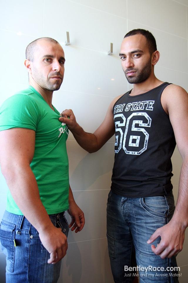 Ali Halibi takes his first big dick with Marco Pirelli
