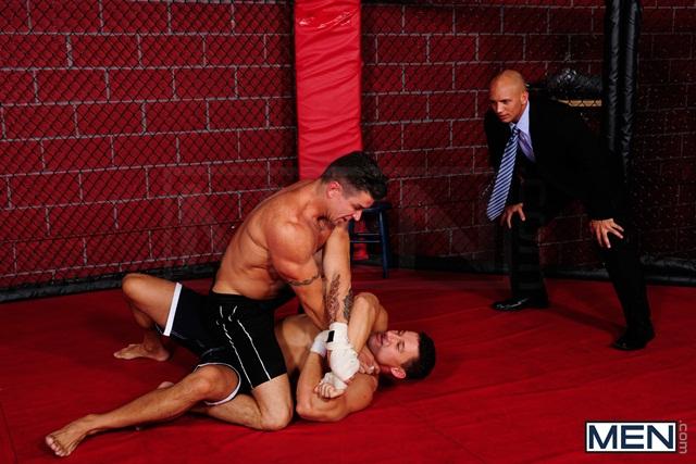 Boxing gay orgy with Trenton Ducati, Robert Van Damme, Phenix Saint, Chris Tyler and John Magnum