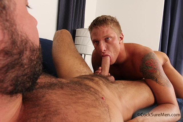 Sexy blond bottom Jessy Ares is cock sore with hairy hunk Phillip Aubrey