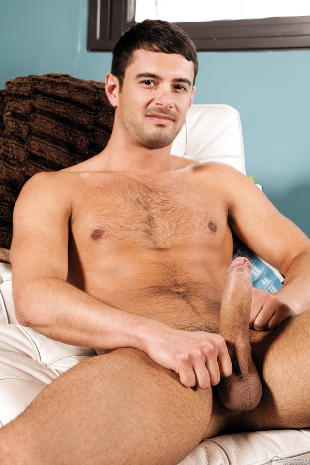 Jed Athens sucks Donny Wright uncut cock at Falcon Studios