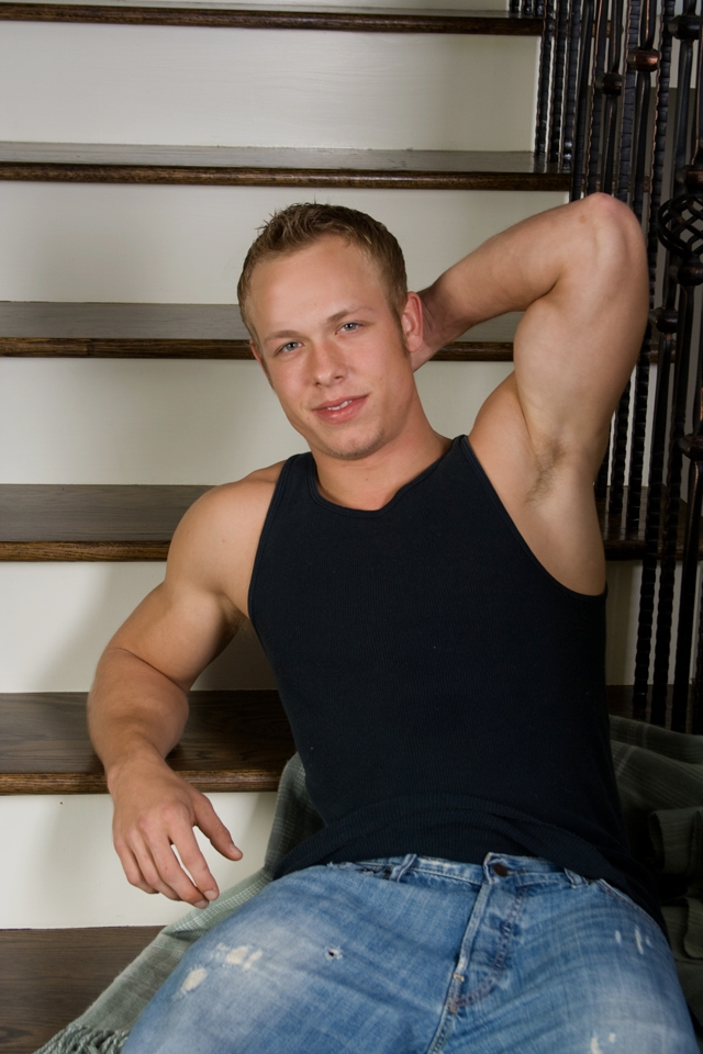 Abercrombie & Fitch muscle stud Corbin Case