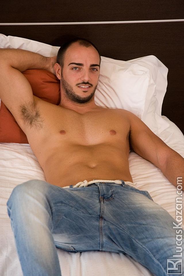 Latino man nude straight