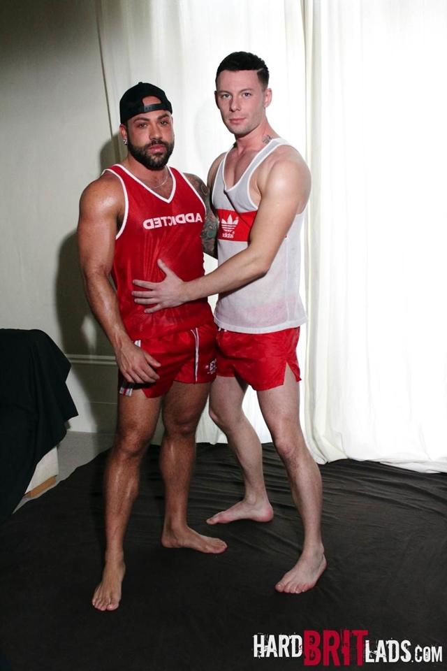HardBritLads-Theo-Reid-Sergi-Rodriguez-stiff-bulges-shiny-sports-shorts-nipple-play-002-male-tube-red-tube-gallery-photo