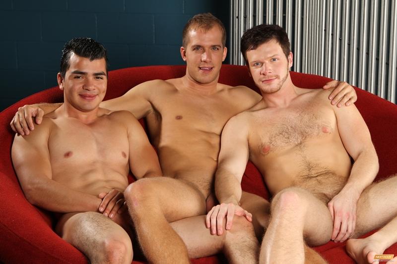 Brandon Lewis, Mario Romo and Brian Bonds