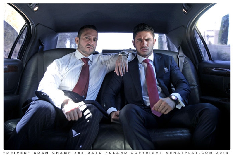 MenatPlay suited muscle hunks Dato Foland Adam Champ rimming cock sucking ass fucking anal gay sex 001 tube download torrent gallery sexpics photo - Adam Champ and Dato Foland