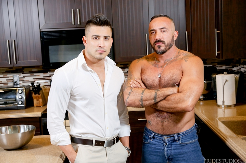 Alessio Romero fucks boyfriend Hunter Vance hard and deep out of anger