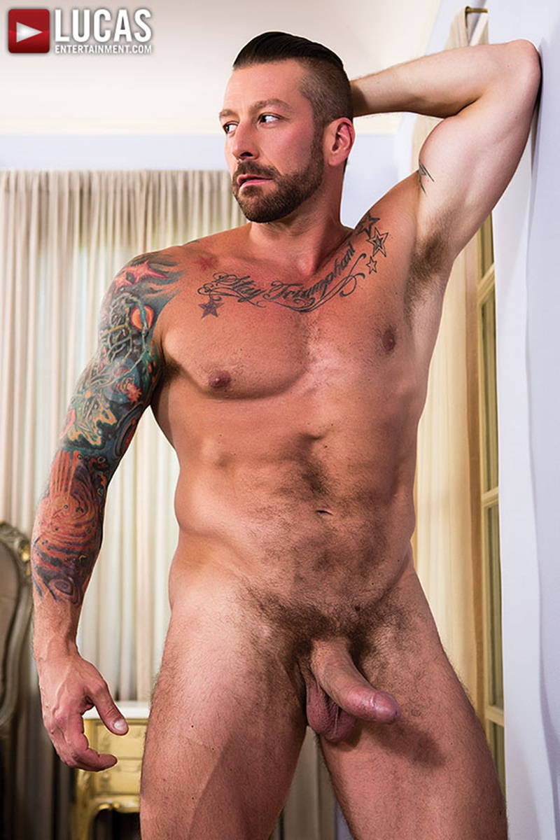 LucasEntertainment-Dylan-James-Hugh-Hunter-bareback-ass-Fuck-Rough-Raw-big-dick-rimming-cocksucking-muscled-tattoo-hunks-11-gay-porn-star-sex-video-gallery-photo