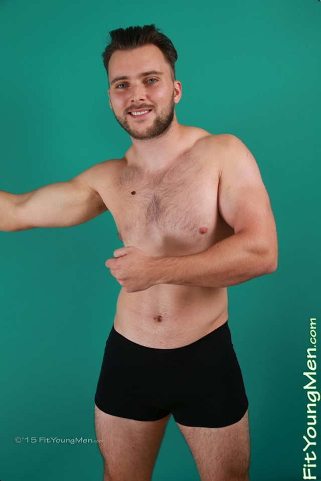 23 year old Greg Rose strips down to his sexy underwear