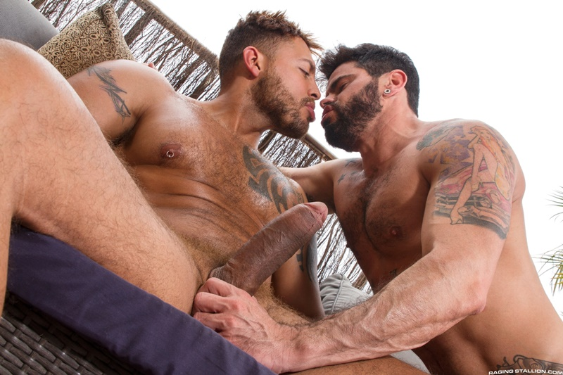 Viktor Rom uses his monster cock to stretch Mario Domenech's hole wide