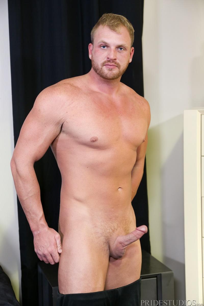 Sexy naked dude Josh Peters and Kaleb Kessler hardcore anal ass fucking