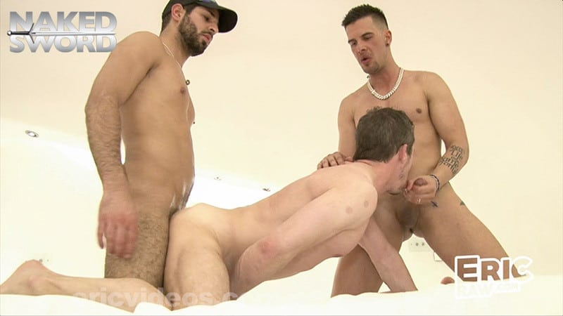Men for Men Blog NakedSword-CUM-Eric-Videos-starring-Teddy-Hunter-Eric-Karim-Alejando-orgasm-jizz-swallowing-003-gallery-video-photo C.U.M. from Eric Videos starring Teddy, Hunter, Eric, Karim and Alejando Naked Sword streaming gay porn movies naked sword gay vod gay video on demand