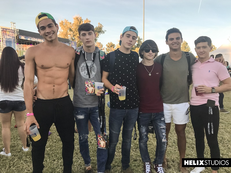 Hardcore twink orgy Joey Mills, Cole Claire, Cameron Parks and Ashton Summers ass fucking fest