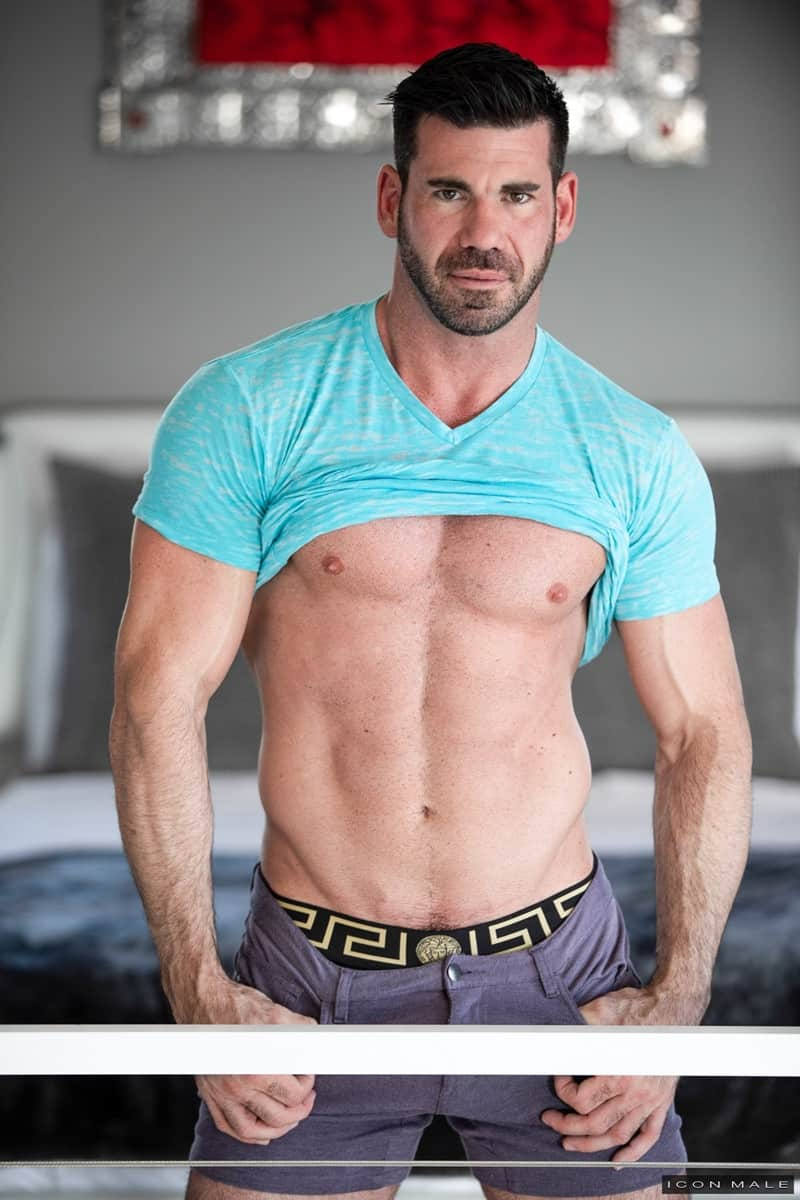 Men for Men Blog IconMale-Bearded-Billy-Santoro-fucks-Austin-Chapman-big-daddy-cock-anal-rimming-cocksucker-023-gay-porn-pictures-gallery Bearded Billy Santoro helps Austin Chapman with his big daddy cock issues Icon Male