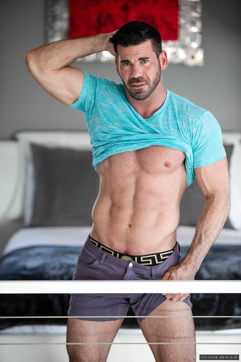 Men for Men Blog IconMale-Bearded-Billy-Santoro-fucks-Austin-Chapman-big-daddy-cock-anal-rimming-cocksucker-024-gay-porn-pictures-gallery Bearded Billy Santoro helps Austin Chapman with his big daddy cock issues Icon Male