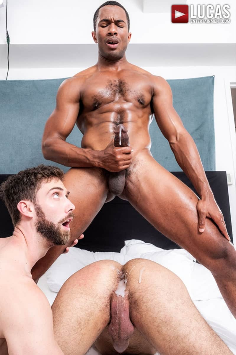 Men for Men Blog JASON-COX-LUCAS-LEON-SEAN-XAVIER-MONSTER-BLACK-DICK-big-muscle-threesome-LucasEntertainment-023-gay-porn-pictures-gallery Hot muscle dudes Jason Cox and Lucas Leon double fucked by Sean Xavier Lucas Entertainment