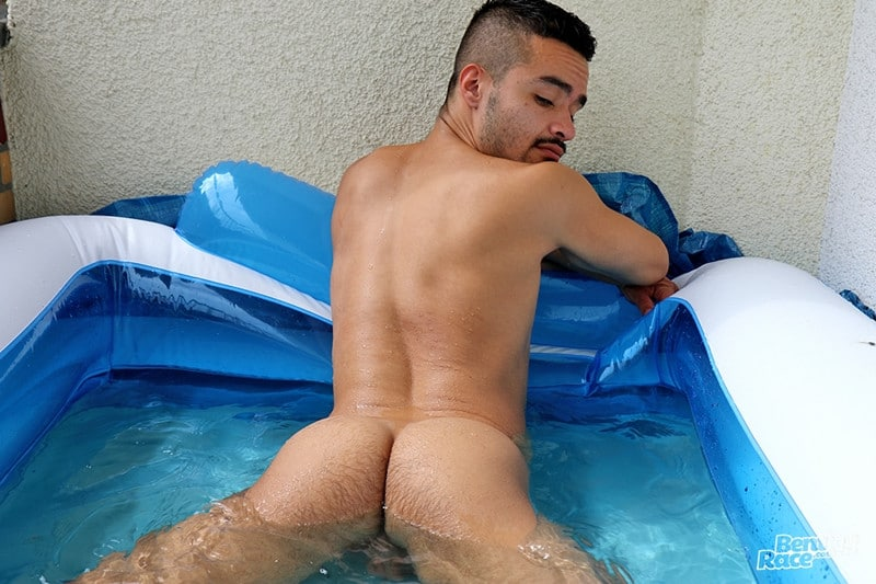 Men for Men Blog Pablo-Pen-South-American-young-stud-wanking-thick-uncut-dick-strips-nude-young-man-pool-BentleyRace-006-gay-porn-pics-gallery Beautiful South American young stud Pablo Pen strips and dives into the pool before wanking his thick uncut dick Bentley Race