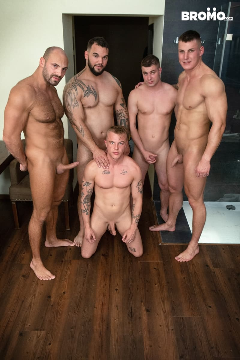 Bromo-Hot-naked-sub-dude-four-masked-men-bareback-fucking-ass-holes-008-gay-porn-pictures-gallery