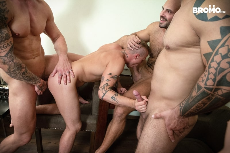 Bromo-Hot-naked-sub-dude-four-masked-men-bareback-fucking-ass-holes-020-gay-porn-pictures-gallery