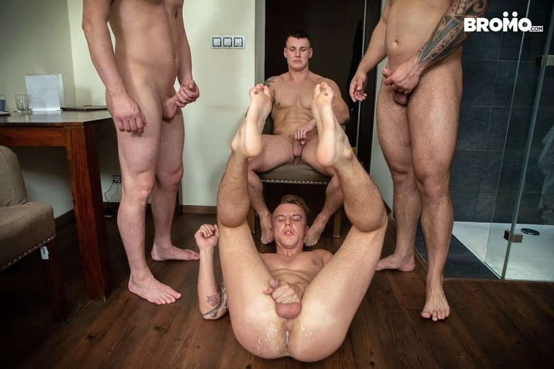 Bromo-Hot-naked-sub-dude-four-masked-men-bareback-fucking-ass-holes-024-gay-porn-pictures-gallery