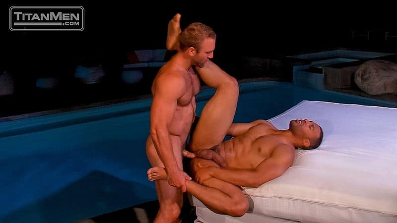 Night Heat gay porn orgy with Alessio Romero, Dario Beck, Hunter Marx, Jay Bentley, Justin King, Tom Wolfe and Tony Orion