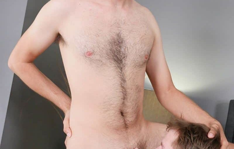 Charlie Maddoxx's huge young cock bare fucking sexy stud Chris Taylor's hot bubble ass