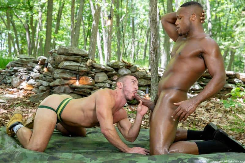 Hairy chested hunk Grant Ryan bare asshole raw fucked black stud Andre Donovan huge dick 0 gay porn pics - Hairy chested hunk Grant Ryan's bare asshole raw fucked by black stud Andre Donovan's huge dick